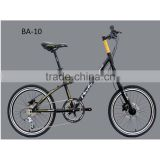 BA-10 Fashion bicycle for kids Women girls City bike Street bicycle 20'' 10 Speed Cycling Disc brake kid Complete Bicycle HOMHIN