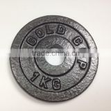 Black Painted Cast Iron Weight Plates for Barbell