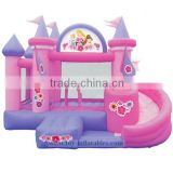 In stock special inflatable jumping castle slide