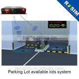 Underground Vehicle Magnetometer Detector Car Counting System for replace loop