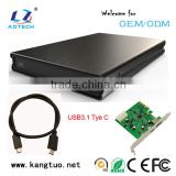 2tb external hard drive enclosures SATA USB(2.0/3.0/3.1)ssd hard drive