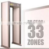 Airport use chinese made high sensitivity walk through metal detector PD6000i security door frame detector