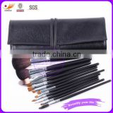 EYA 12 pcs animal hair make up brush set