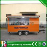 Used mini food bus food trailer food kiosk for sale