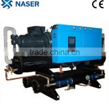 China Manufacturer Environmental Friendly R407c Refrigerant 100HP Industrial Screw Chiller
