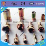 Male/Female threaded JIC standard gas hose fitting end coupling connector