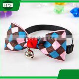 Wholesale Cat Accessories Cute Cheap Cat Bow Tie Collar & Dog Bow Tie Collar & Fashion Pet Tie With Collar Q