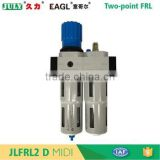 Exquisite JULY new style brand filter-regulator-lubricator combinations for two-poin FRL