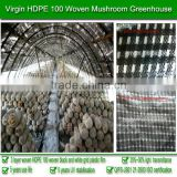 Low cost and price 100% virgin HDPE 5 years use life 60 months UV protective polyethylene tunnel greenhouses film for mushroom