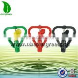 6022P-2 high quality Rotating Lawn Sprinkler Micro plastic sprinkler for farm irrigation