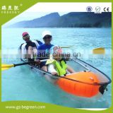 2 seat touring manufacture pc formed transparent clear boat