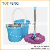 egg double rotation magical mop the floor auto cleaning belt bucket