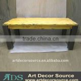 Solid Wood Table S/2