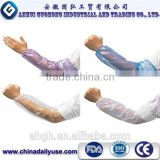 disposable plastic sleeve cover,disposable PE sleeve cover for medical,disposable sleeve cover with elastic