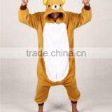 hot sales latest walking lovely brown bear rilakkuma mascot costumes china