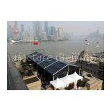 Used Movable PVC Fabrci 20 X 20 Large Commercial Tents , Custom Party Tent