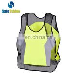Custom high quality reflective safety womans exercise clothing