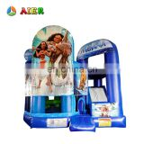 Hot sell inflatable baby bouncer rocking /air bouncer inflatable trampoline / cheap inflatable bouncer house with slide