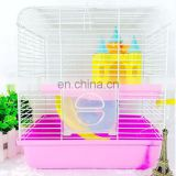 High quality luxury tower hamster cage animals transparent clear view larger plastic house acrylic cheap pet cage