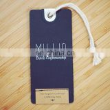 China Clothing Hang Tag For Garment / Jewelry Swing Tag / Bracelet Price Tag