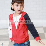 T-BH511 Multi-Color Fashion Boy's Zipper Up High Quality Hoodie