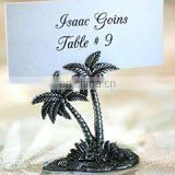 Pewter Palm Tree Place Card / Photo Holder