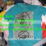 Perfect wholesale Men T-shirts second hand used clothing