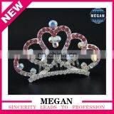 Newest Rhinestone Tiara Comb for Wedding Bridal Prom Party