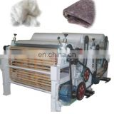 High Capacity Stainless Steel textile fabric rotary second hand rag printing tearing machine