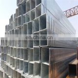 40*80mm gi rectangular tube, pre galvanized rectangular tube