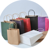 Paper Bag for Luxury Branding Fashion Shopping Promotion Apparel Packaging