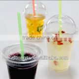 clear disposable plastic cup, take aways plastic cup,factory made juice cup with macthing lids, eco-friendly cups, food base