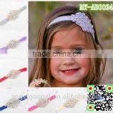 aliexpress hair accessories blingbling wedding flower girl glitter headbands with jewelry diamond pearl MY-AB0024