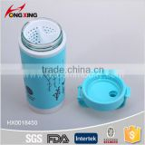 420ML fashion students sport Plastic water bottles with strainer and Air holes