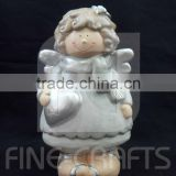 Ceramic angel sculpture Christmas handicrafts gifts