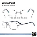 Metal Material Full Rim Square 2015 Fashion New Model Reading Eyewear Frame Glasses From China For Men