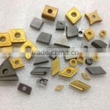 Tungsten carbide cutter and insert for wood turning tools