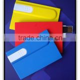 hot selling plastic usb flash drive business card usb credit card usb flash drive with custom logo for gifts