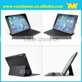 For apple ipad air keyboard case,stand leather case for ipad air with bluetooth keyboard