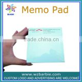 printed logo stationary memo pad for office