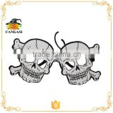 Halloween skeleton paper glasses of eyes party                                                                         Quality Choice
