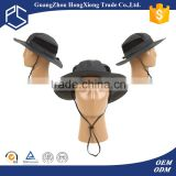 New stylish floppy custom fishing bucket hat with string