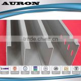 groove series gi cable tray price /Electro galvanized cable tray prices /Electric cable tray