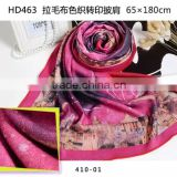 fashionable printed patterned brush polyester viscose pashmina shawl,yarn dye imitated cashmere shawl and scarves women                                                                                                         Supplier's Choice