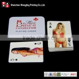 Custom Nude Poker Card,Plastic Sex Ax Play Card                                                                         Quality Choice