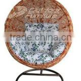 Indoor & Outdoor Garden Furniture Rattan Swing Chair / Patio Hanging Swing / Rattan Hanging Egg Chair