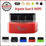 2016 new arrival Vgate iCar3 Wifi Scanner Code Reader Vgate iCar 3 Diagnostic Tool ELM327 WiFi For IOS/Android/PC