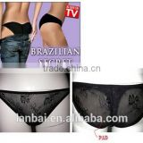 brazilian secret Ladies lace polyester spandex seamless corset slimming Hip & Buttock Push Up Hip lift waist sharper panties
