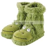 plush animal slippers plush animal slippers/cheap baby shoes/plush animal slipperss with animal head