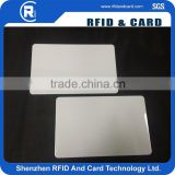 MIFARE Plus S 4K rfid smart ISO PVC blank hotel key cards pvc business card